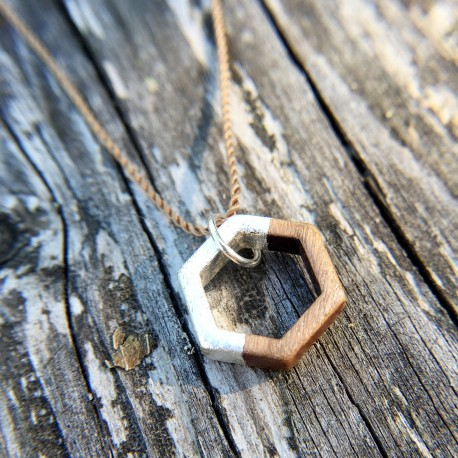 Hexa · Kette in silber