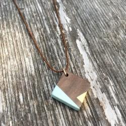 Marfa · Kette in gold und mint