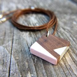 Marfa · Kette in silber und rosa