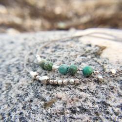 Vejrø · Armband in Silber und Jaspis