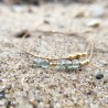 Drejø · Armband in Gold und Apatit