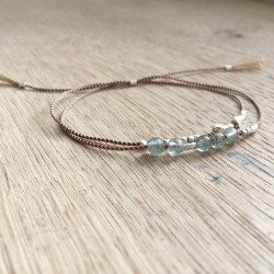 Drejø · Armband in Silber und Apatit