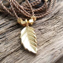 Blad · Kette in gold