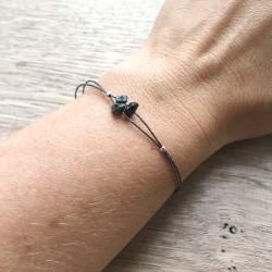 Bleika · Armband mit Obsidian
