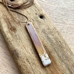 Drys · Kette in silber und violett