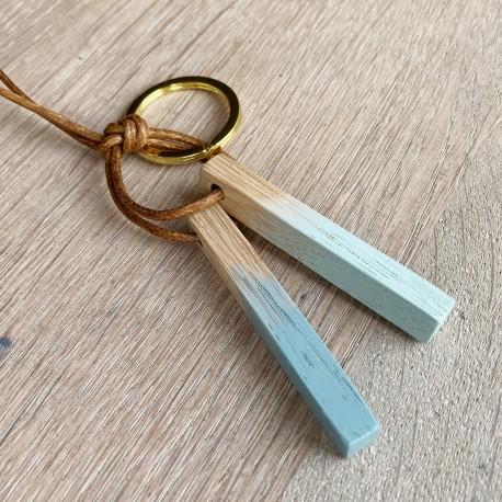 Blok · Schlüsselanhänger in mint und türkis